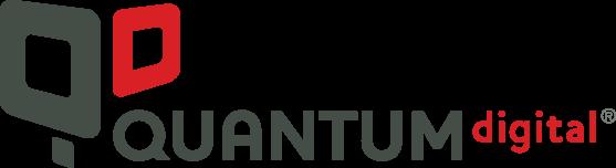 QuantumDigital text logo.